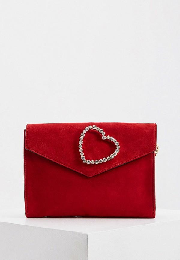 женская сумка через плечо tara jarmon, красная