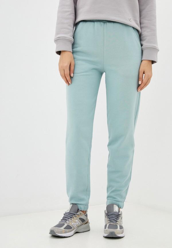 женские спортивные брюки francesco donni, голубые