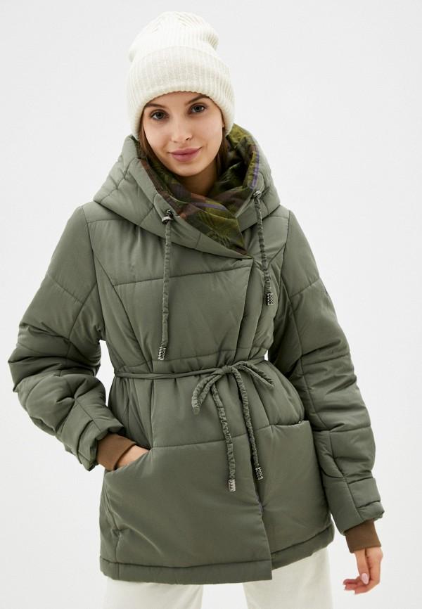 женская утепленные куртка dimma, хаки