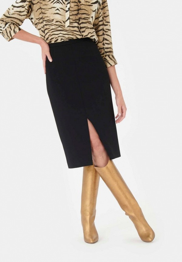 женская прямые юбка tara jarmon, черная