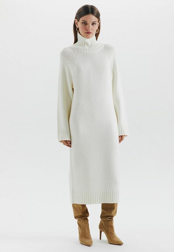 женское платье-свитеры love republic, белое