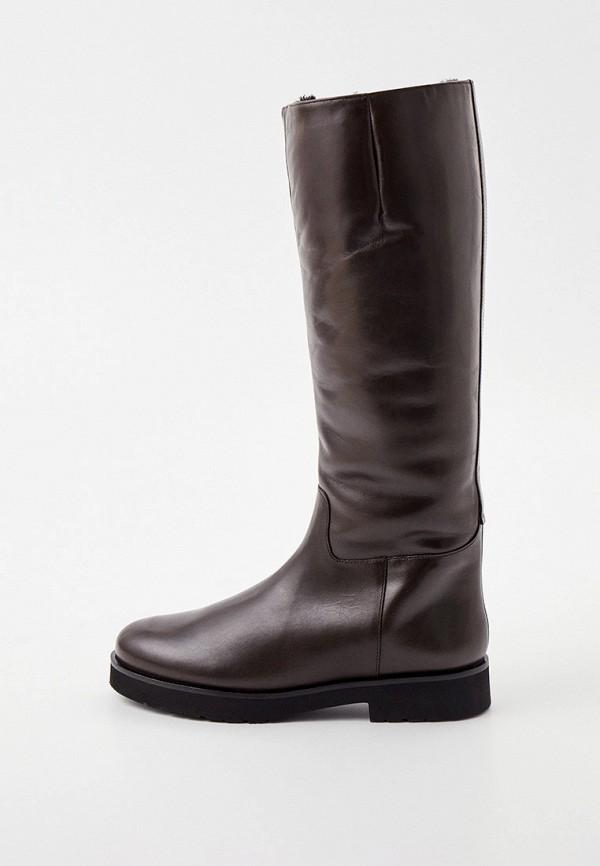 женские сапоги hogl, коричневые