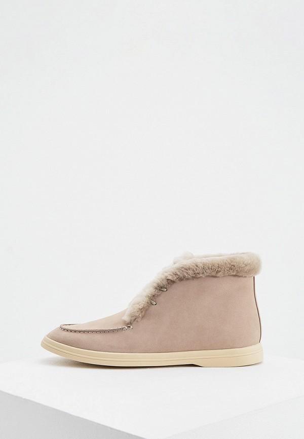 женские ботинки-челси 12storeez, серые