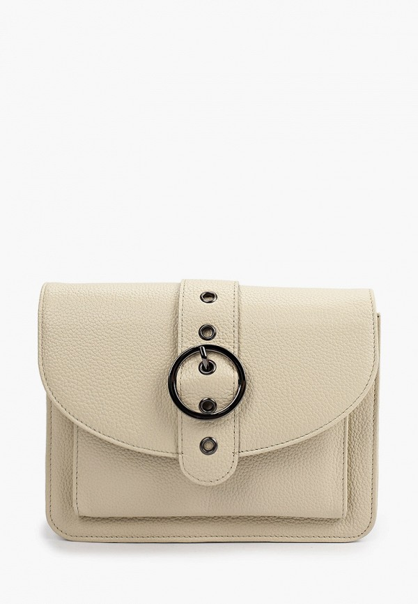 женская сумка через плечо d.morelli, бежевая