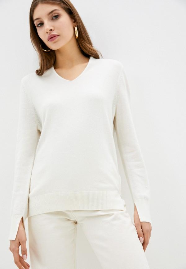 женский пуловер lusio, белый