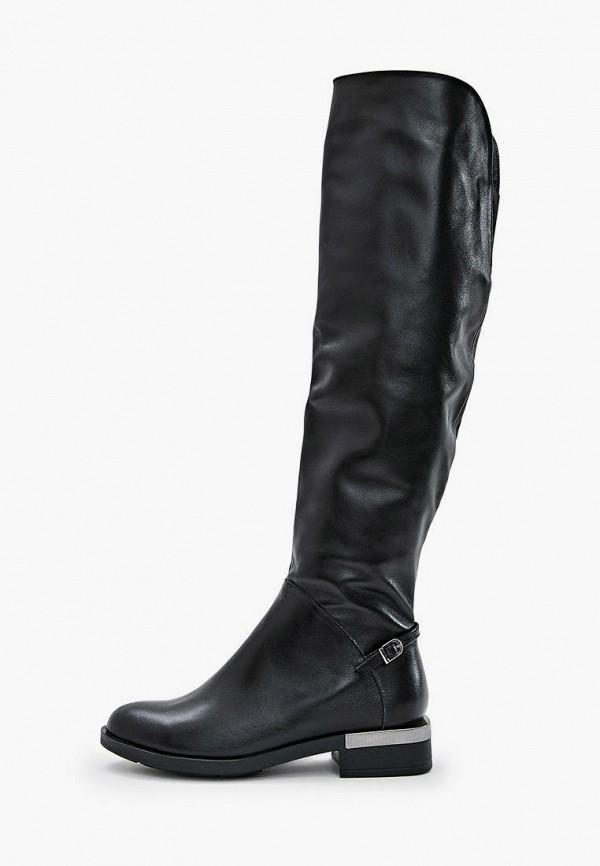 женские ботфорты avk style, черные