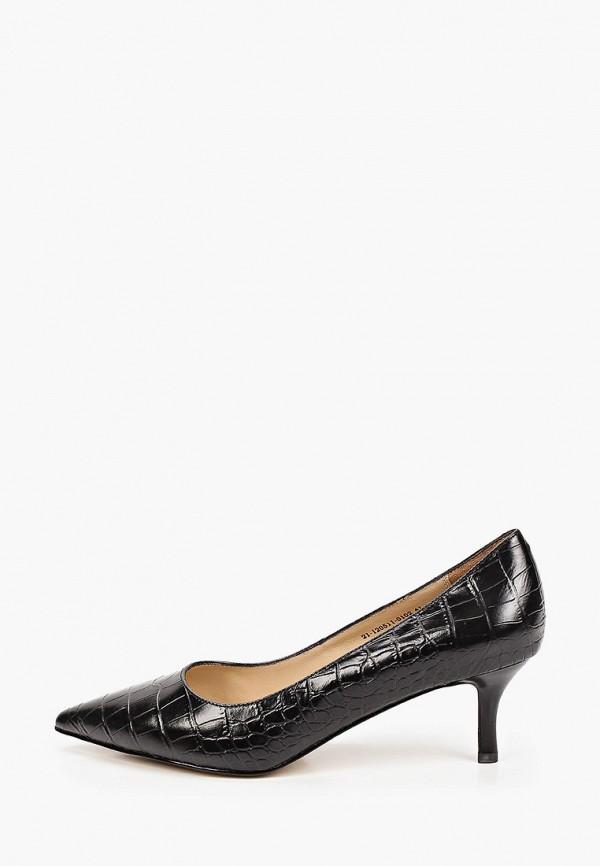 женские туфли-лодочки mascotte, черные