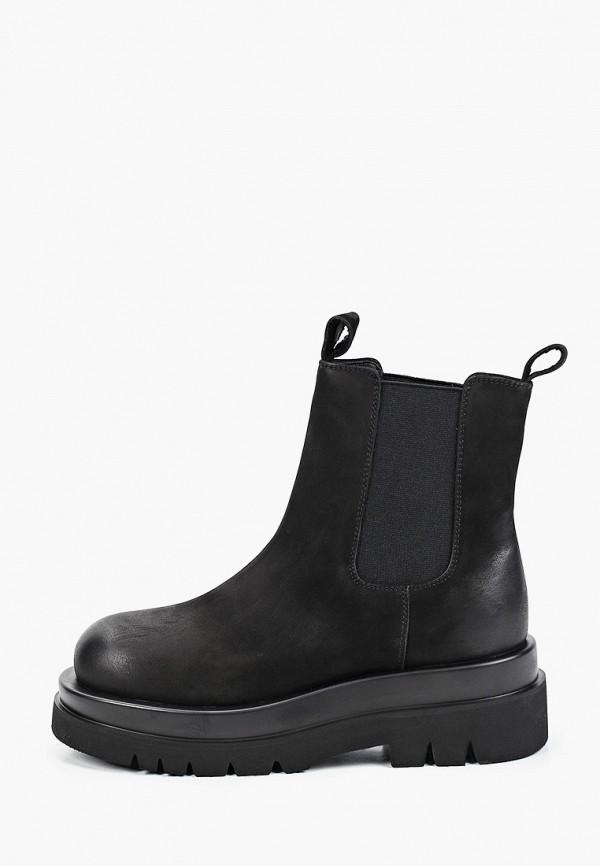 женские ботинки-челси mascotte, черные