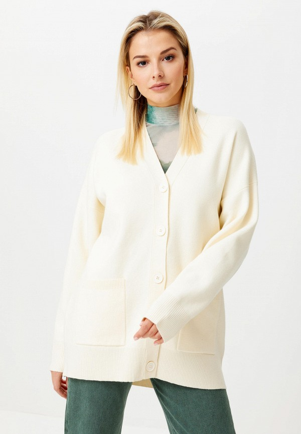 женский кардиган sela, белый