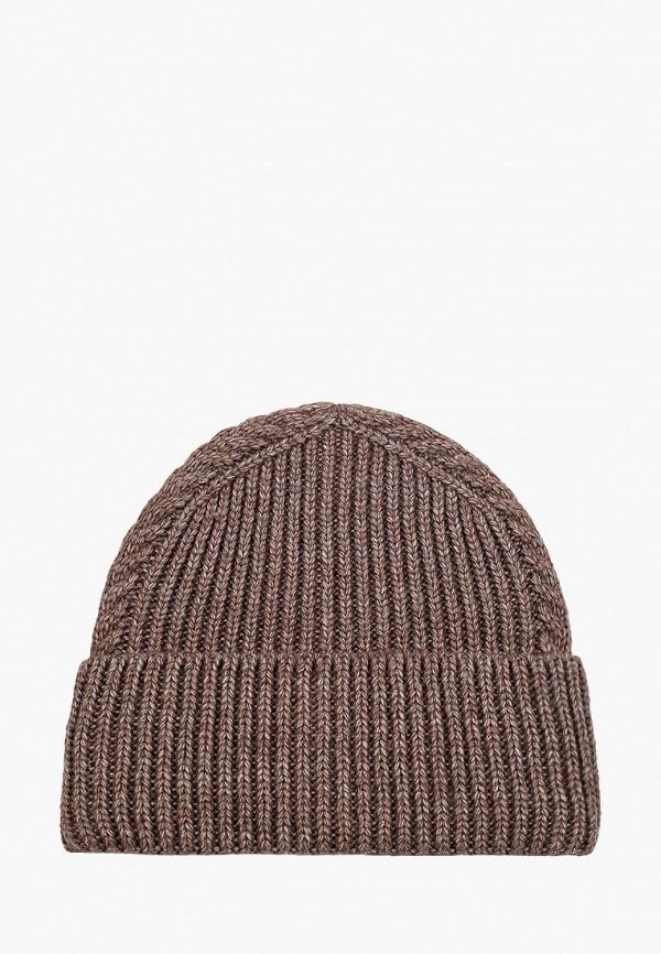 женская шапка dispacci, коричневая
