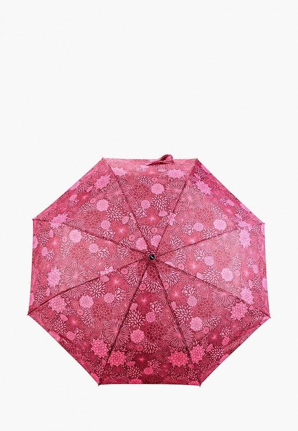 женский складные зонт doppler, розовый
