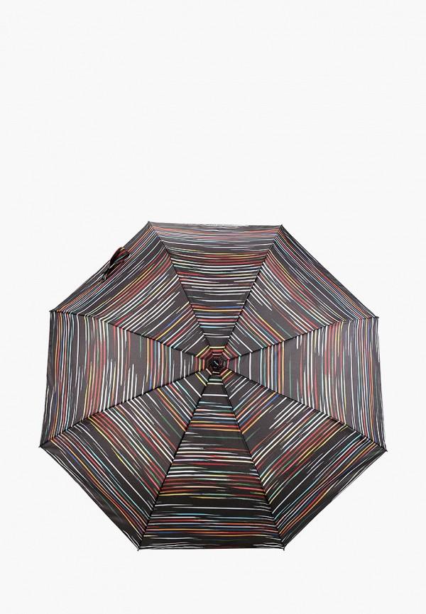 женский складные зонт doppler, черный