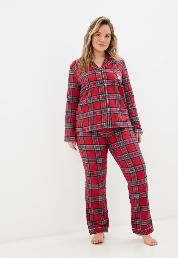 женская пижама mia cara, красная