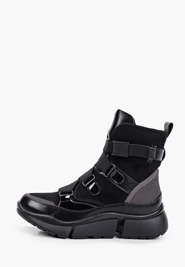 женские высокие ботинки mascotte, черные
