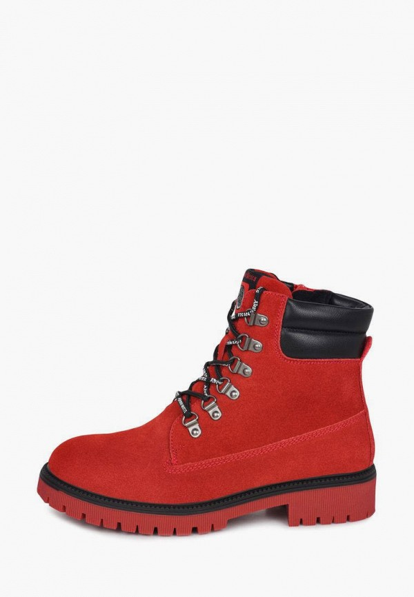 женские ботинки alessio nesca, красные