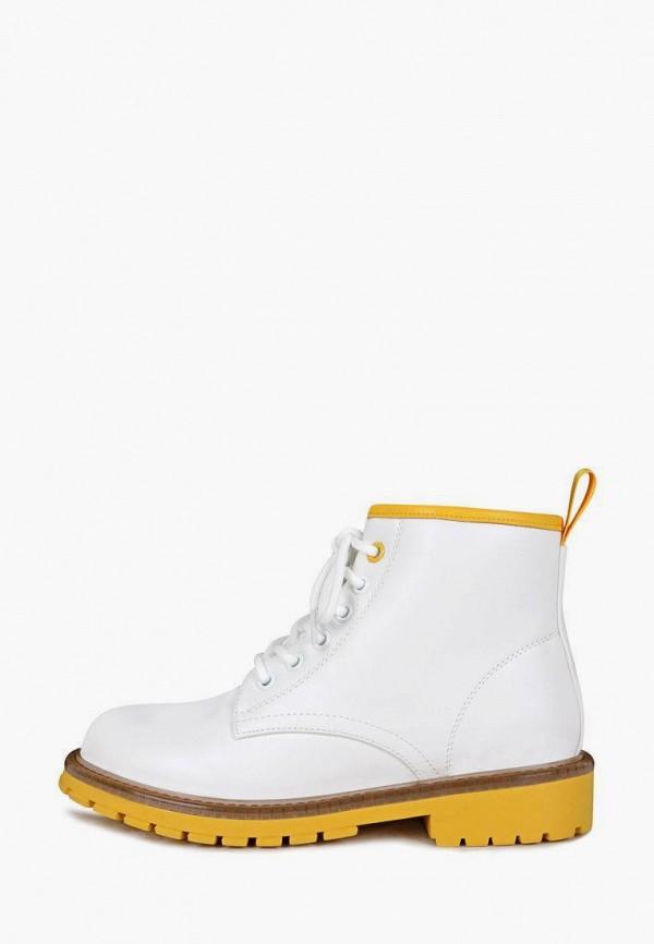 женские высокие ботинки t.taccardi, белые