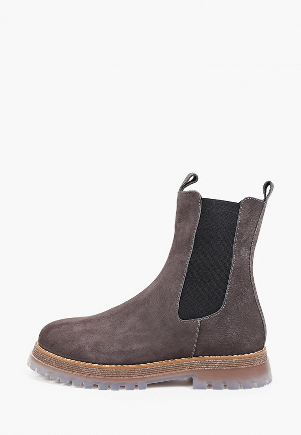 женские ботинки-челси valley, коричневые