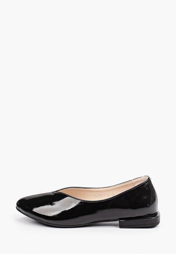 женские туфли с закрытым носом el'rosso, черные