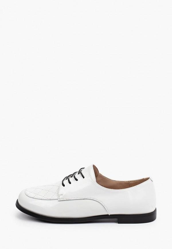 женские низкие ботинки el'rosso, белые