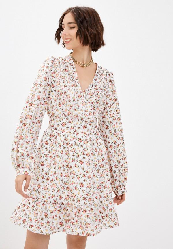 женское платье с запахом vittoria vicci, белое