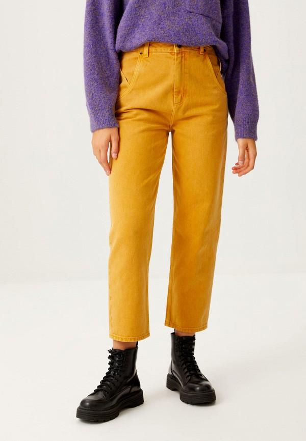 женские повседневные брюки sela, желтые