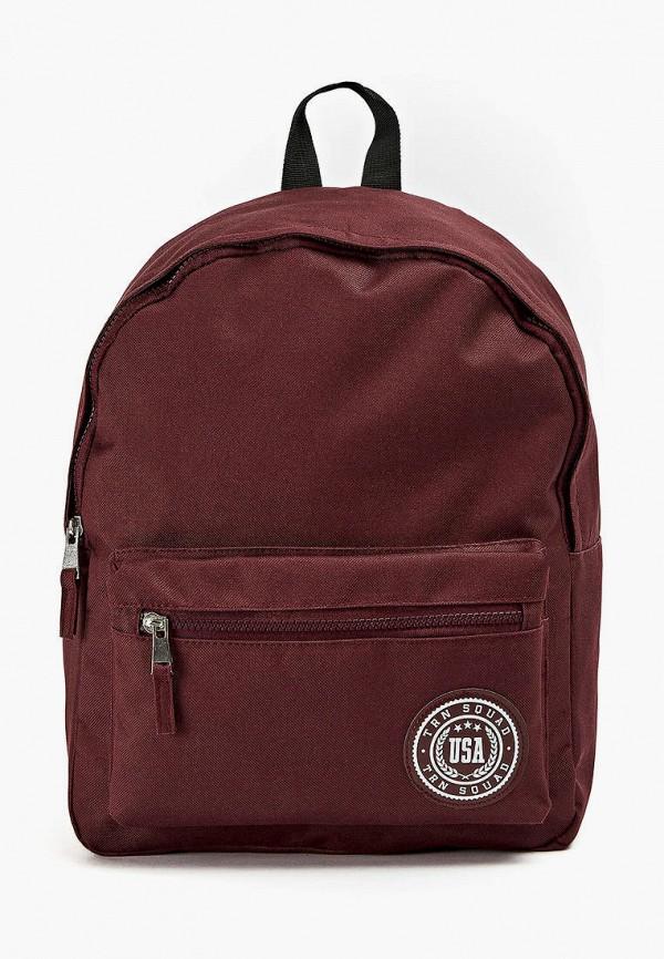 женский рюкзак terranova, бордовый