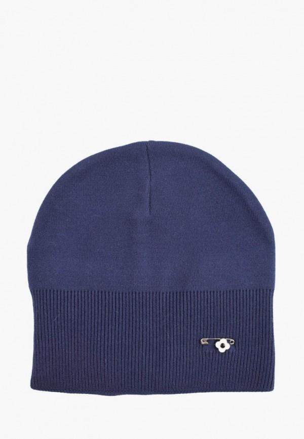 женская шапка demari, синяя