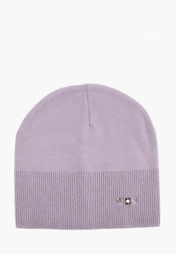 женская шапка demari, фиолетовая