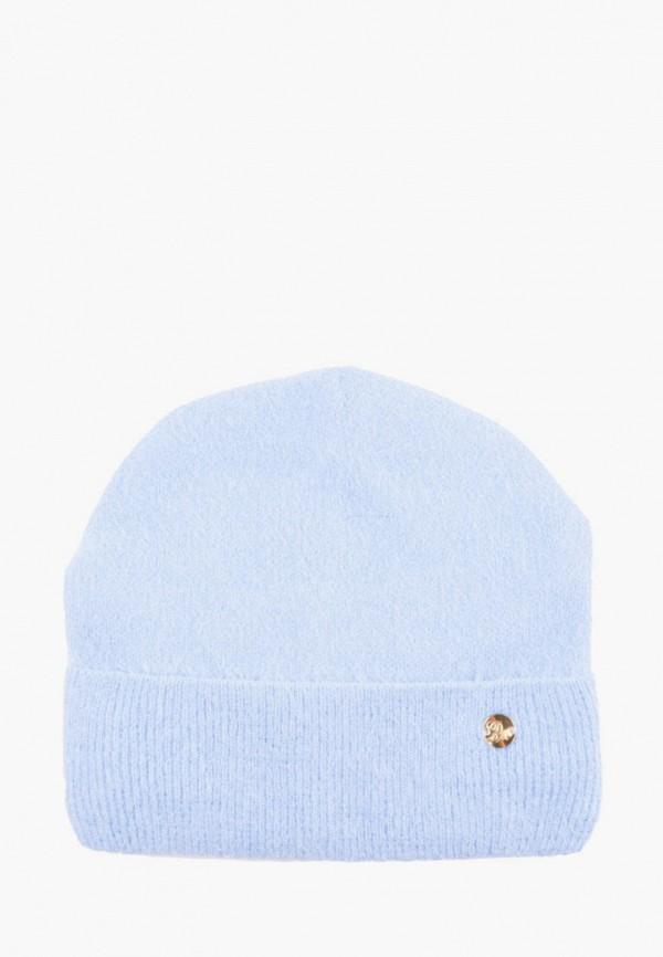 женская шапка demari, голубая