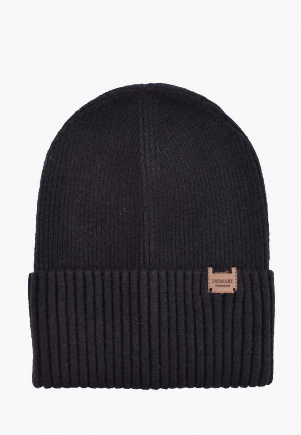 женская шапка demari, черная