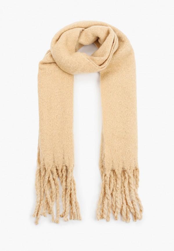 женский шарф befree, бежевый