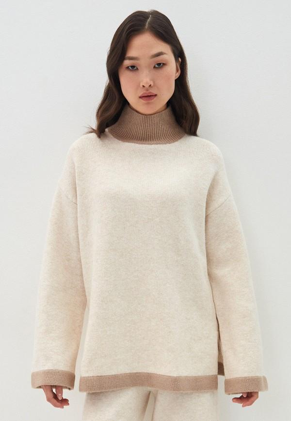 женский свитер zarina, бежевый