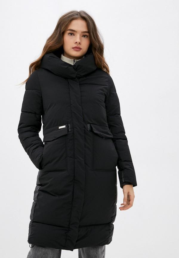 женская утепленные куртка indiano natural, черная