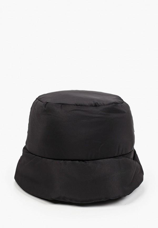женская панама zarina, черная