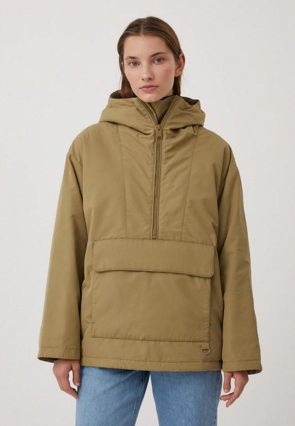 Куртка утепленная Finn Flare бежевого цвета