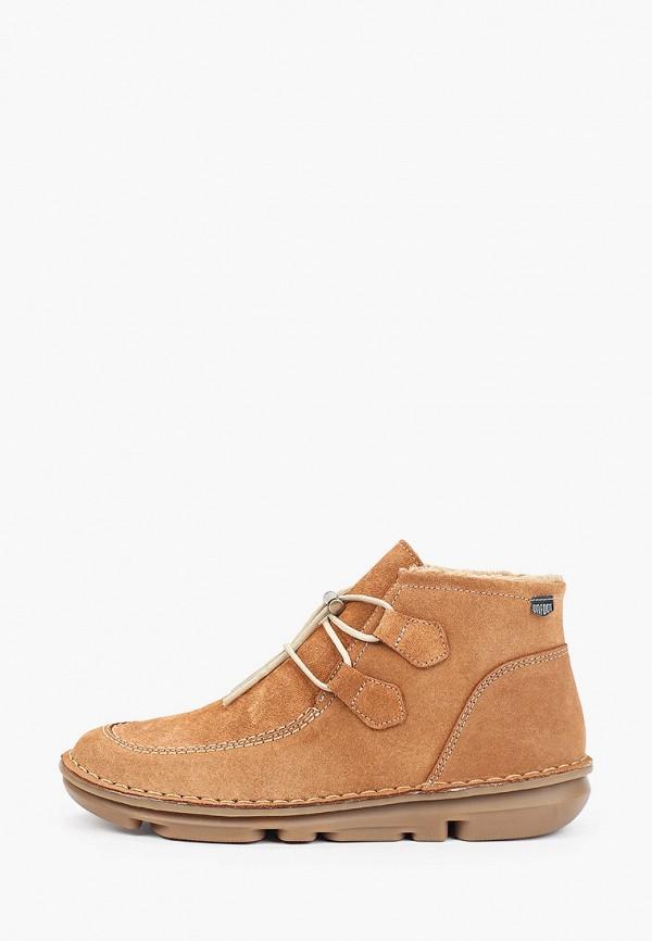 женские высокие ботинки on foot, коричневые