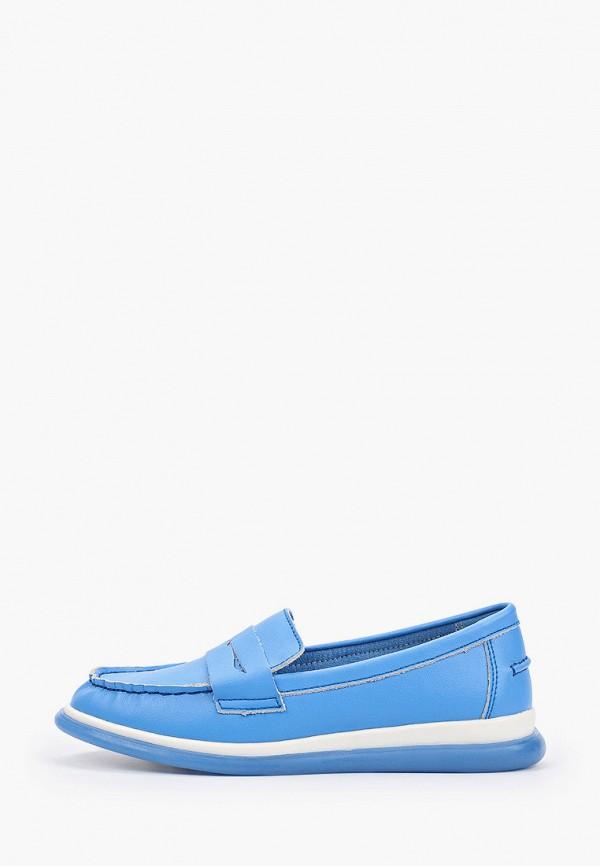 женские мокасины quattrocomforto, голубые
