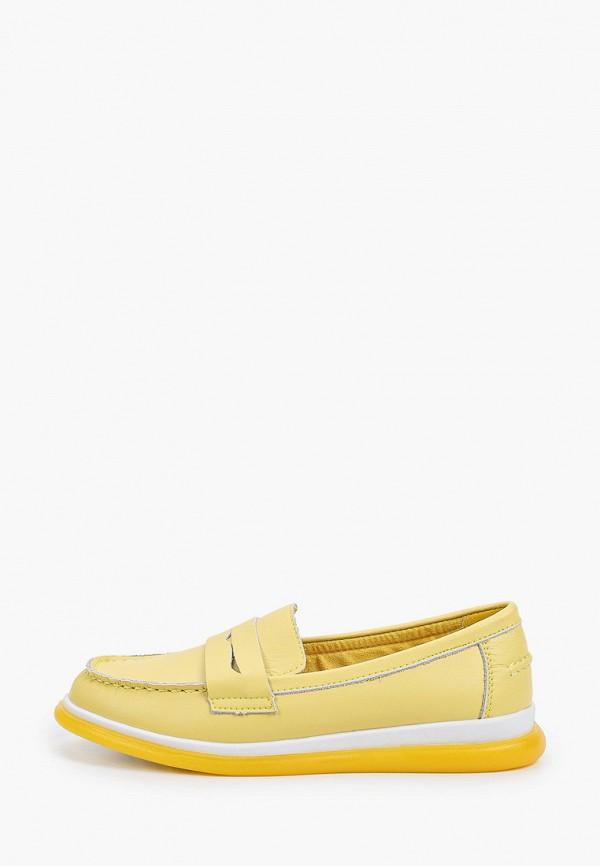 женские мокасины quattrocomforto, желтые