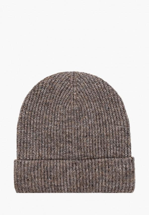 женская шапка o'stin, коричневая