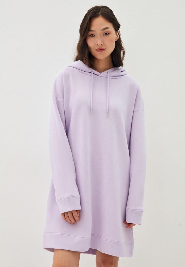 женское платье zarina, фиолетовое