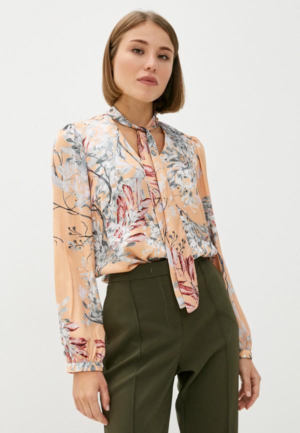 женская блузка mironi, оранжевая