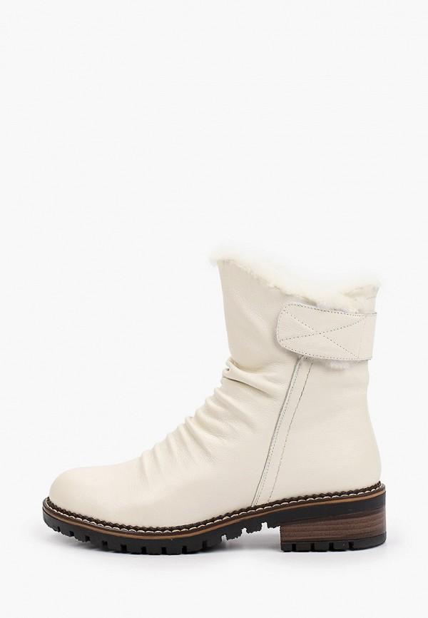 женские высокие ботинки helena berger, бежевые