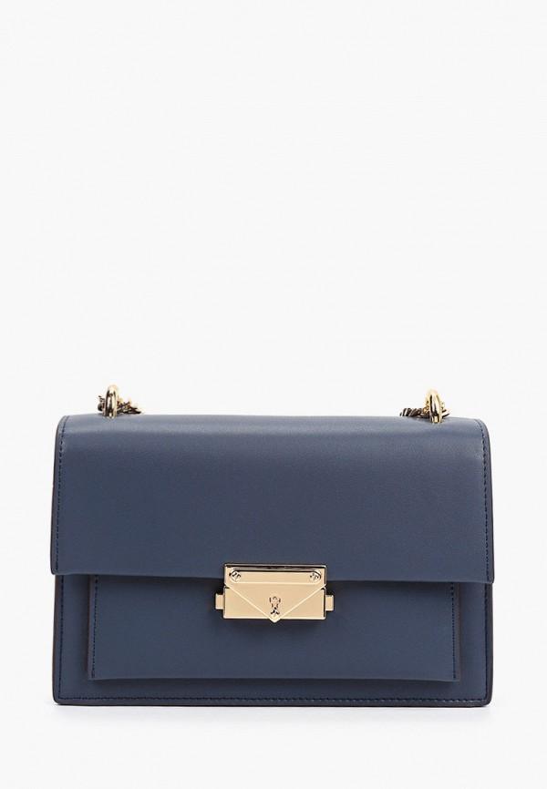 женская сумка через плечо pazolini, синяя