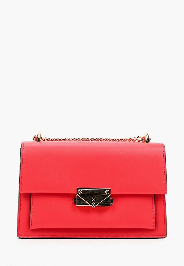 женская сумка через плечо pazolini, красная