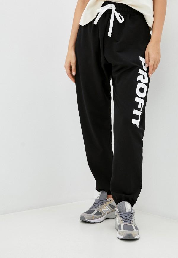 женские спортивные брюки profit, черные