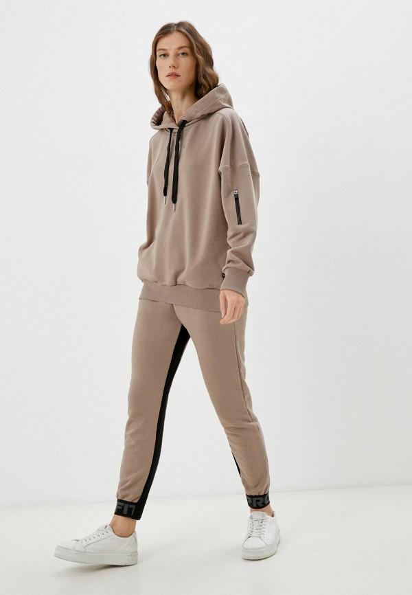 женский спортивный костюм profit, бежевый