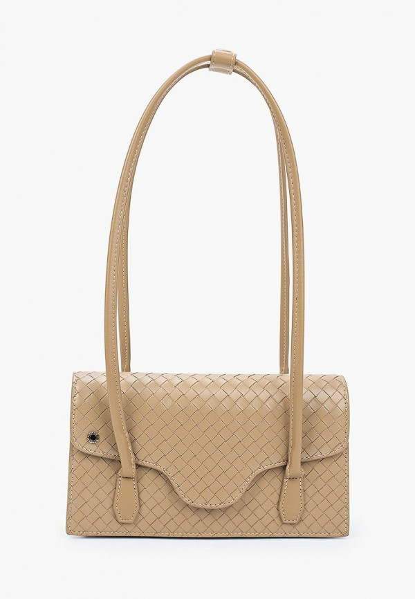 женская сумка с ручками tuffoni, бежевая