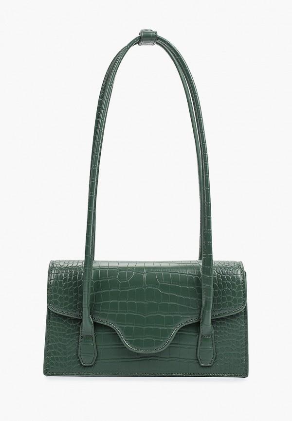 женская сумка с ручками tuffoni, зеленая