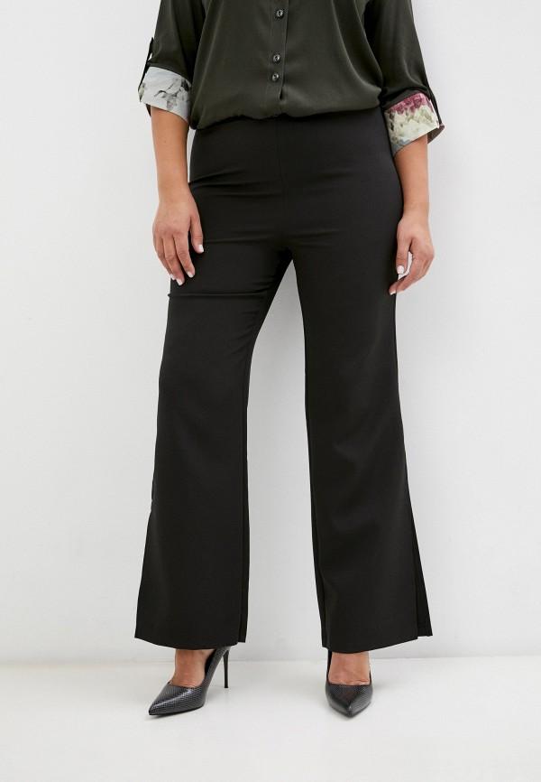 женские брюки клеш sparada, черные