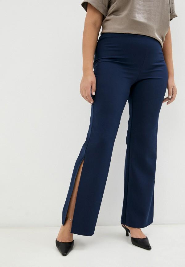 женские брюки клеш sparada, синие